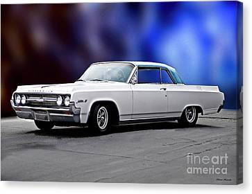 1964 Oldsmobile Jetstar 88 II Canvas Print by Dave Koontz