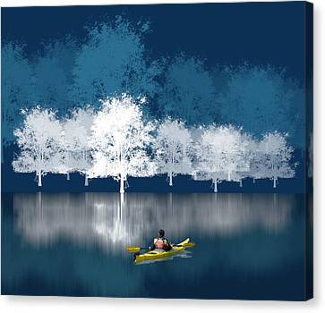 Canvas Print featuring the photograph 1964 by Peter Holme III