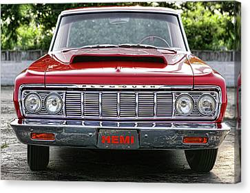 1964 Plymouth Savoy Hemi  Canvas Print by Gordon Dean II