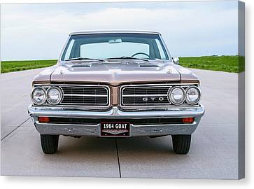 1964 Pontiac G T O - First Year Of Production Canvas Print by Daniel Hagerman