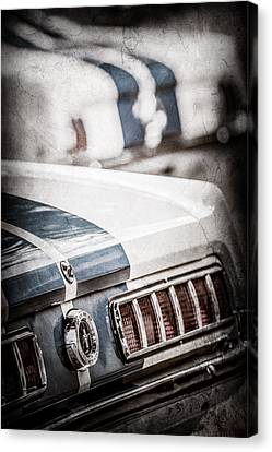 1965 Ford Shelby Mustang Gt 350 Tail Light -1037ac Canvas Print