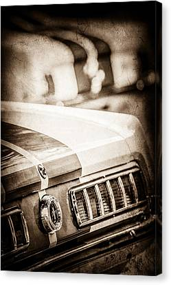 1965 Ford Shelby Mustang Gt 350 Tail Light -1037s Canvas Print by Jill Reger