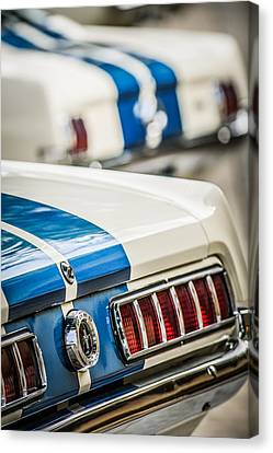 1965 Ford Shelby Mustang Gt 350 Taillight -1037c Canvas Print