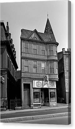 Canvas Print featuring the photograph 1965 Jack's Celtic Tavern Boston by Historic Image