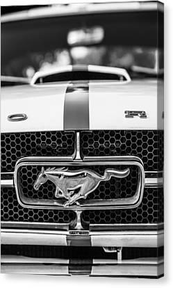 1965 Mustang Canvas Print by Karol Livote