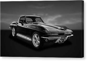 1966 C2 Chevrolet Corvette  -  66vtbw33 Canvas Print