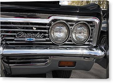 1966 Chevy Impala Chrome Canvas Print