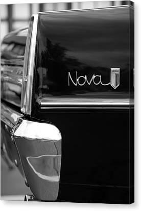 1966 Chevy Nova II Canvas Print by Gordon Dean II