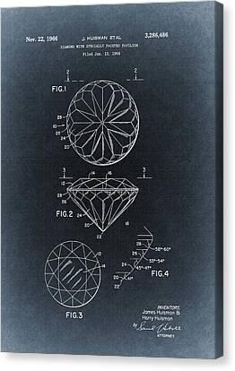 1966 Diamond Illustration Canvas Print by Dan Sproul