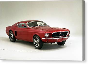 1966 Ford Mustang Mach I Concept Wide Canvas Print