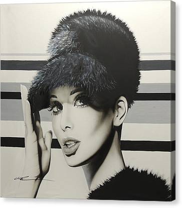 Portrait - ' 1967 ' Canvas Print by Christian Chapman Art