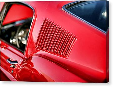1967 Ford Mustang Gt  Canvas Print by Gordon Dean II