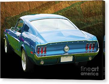 1967 Mustang Canvas Print