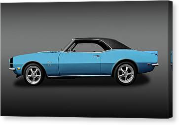 1968 Chevrolet Camaro Super Sport 396   -   1968chcam396ssfa0130 Canvas Print by Frank J Benz
