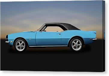 1968 Chevrolet Camaro Super Sport 396   -   1968chevycaamaross0130 Canvas Print by Frank J Benz