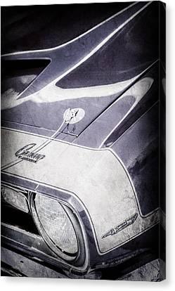 1968 Chevrolet Yenko Super Camaro Emblem -0653ac Canvas Print