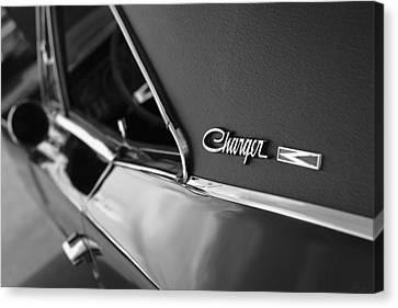 1968 Dodge Charger R/t Canvas Print by Gordon Dean II