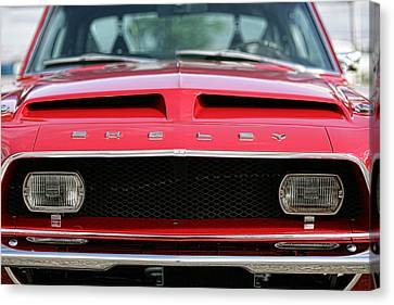 1968 Ford Mustang Shelby Gt500 Kr Canvas Print by Gordon Dean II