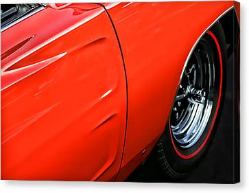 1969 Dodge Charger Rt Canvas Print by Gordon Dean II
