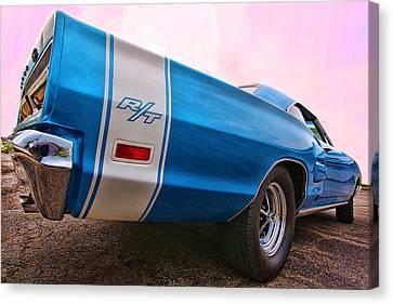 1969 Dodge Coronet Rt Canvas Print by Gordon Dean II