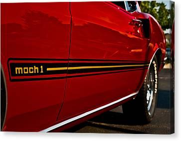 1969 Mustang Mach I Canvas Print