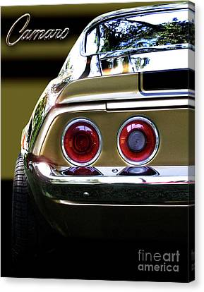 1970 Camaro Fat Ass Canvas Print by Peter Piatt
