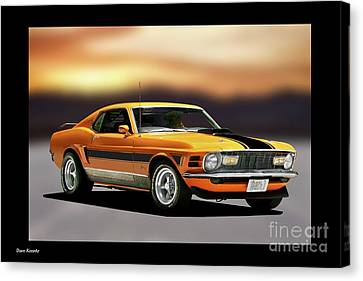 1970 Ford Mustang Mach I Canvas Print