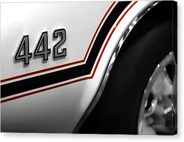 Indy Car Canvas Print - 1970 Olds 442 Indy 500 Pace Car by Gordon Dean II