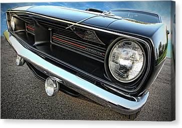 1970 Plymouth Barracuda 'cuda 440 Canvas Print by Gordon Dean II