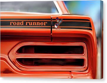 1970 Plymouth Road Runner - Vitamin C Orange Canvas Print by Gordon Dean II