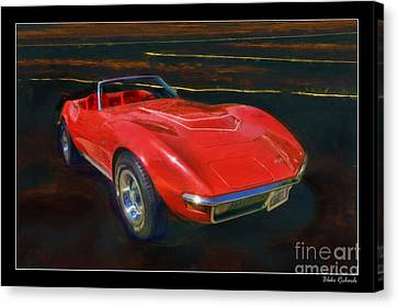 1971 Chevy Corvette Lt1 Canvas Print by Blake Richards