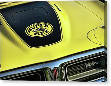 1971 Dodge Charger Super Bee Canvas Print by Gordon Dean II