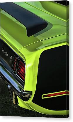 1971 Plymouth Hemicuda Hemi Cuda Barracuda Canvas Print by Gordon Dean II