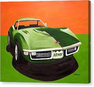 1971stingray-army Canvas Print
