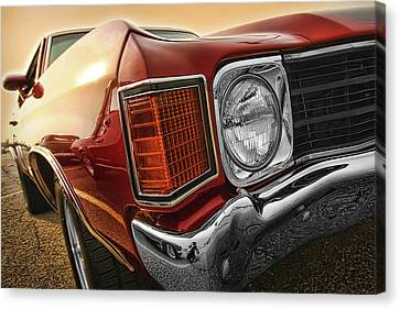 1972 Chevrolet Chevelle Ss  Canvas Print
