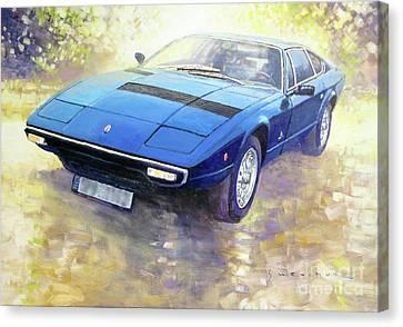 1972 Maserati Khamsin  Canvas Print