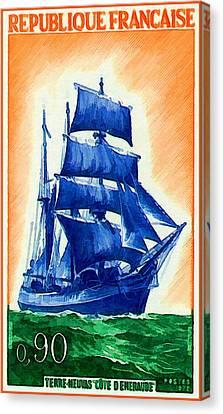 Newfoundlander Canvas Print - 1972 Newfoundland Neuvas Emerald Coast by Lanjee Chee