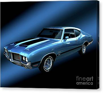 1972 Olds 442 Canvas Print by Peter Piatt