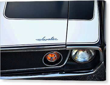 1974 Amc Javelin Front Canvas Print by Paul Ward