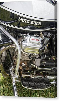 1976 Moto Guzzi V1000 Convert Canvas Print