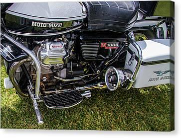 1976 Motto Guzzi V1000 Convert Canvas Print