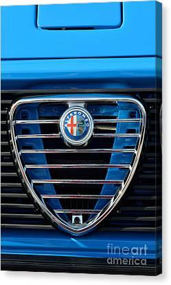 1977 Alfa Romeo A12 Badge Canvas Print by George Atsametakis