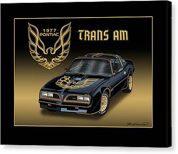 1977 Pontiac Trans Am Bandit Canvas Print