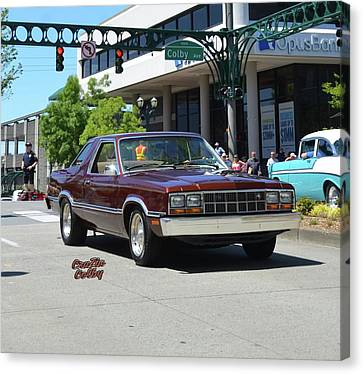 1983 Ford Fairmont Futura Starkey Canvas Print