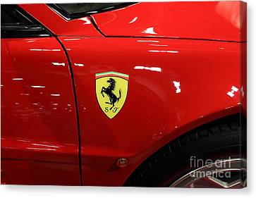1986 Ferrari Testarossa - 5d19894 Canvas Print by Home Decor