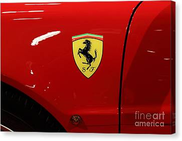 1986 Ferrari Testarossa - 5d20025 Canvas Print by Home Decor