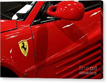 1986 Ferrari Testarossa - 5d20026 Canvas Print by Home Decor