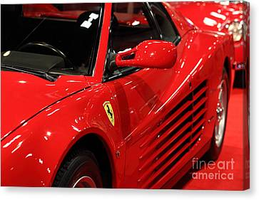 1986 Ferrari Testarossa - 5d20028 Canvas Print by Home Decor