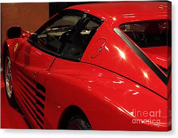 1986 Ferrari Testarossa - 5d20030 Canvas Print by Home Decor