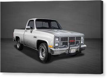 1986 Gmc Sierra Classic 1500 Series Pickup Truck-2 Canvas Print by Frank J Benz